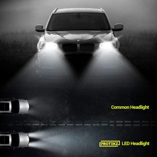 H9 LED Headlight Kit Plug/&Play 60W 7200LM 6K for 2005-2016 Volvo XC70 High Beam