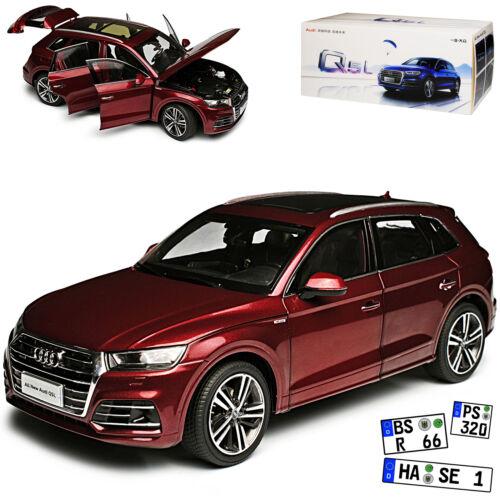 Generation Ab 2016 1//18 Paudi Modell Auto mit oder ohne Audi Q5 FY II SUV Rot 2