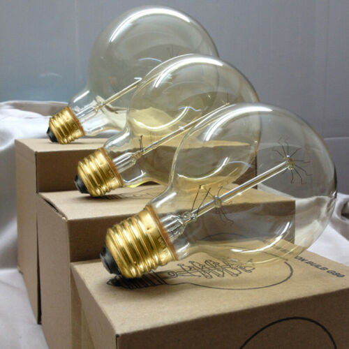 1//6x Antique Edison Filament Bulb B22//E27 Industrial Style Indoor Lights Lamp UK