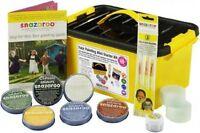Snazaroo 300+ Faces Professional Halloween Face Paint Painting Box Kit 1194010