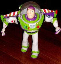 TOY STORY SPANISH ENGLISH TALKING BUZZ LIGHTYEAR ACTION FIGURE TOY IN VGWC
