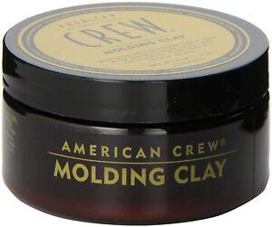 12 Pezzi American Crew molding clay 85 gr cera capelli .Tenuta forte