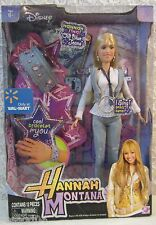 "Disney Hannah Montana/Miley Cyrus Stewart Barbie Doll Sings ""Old Blue Jeans"" NEW"