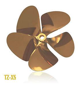 OJ-TZ-X5-Inboard-Propeller-Left-Hand-Nibral-1-1-8-034-Shaft-5-Blade-for-5-7L-amp-6-0L