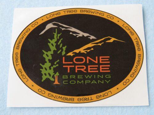 COLORADO Micro Beer STICKER ~ LONE TREE Brewing Company; South Denver Location