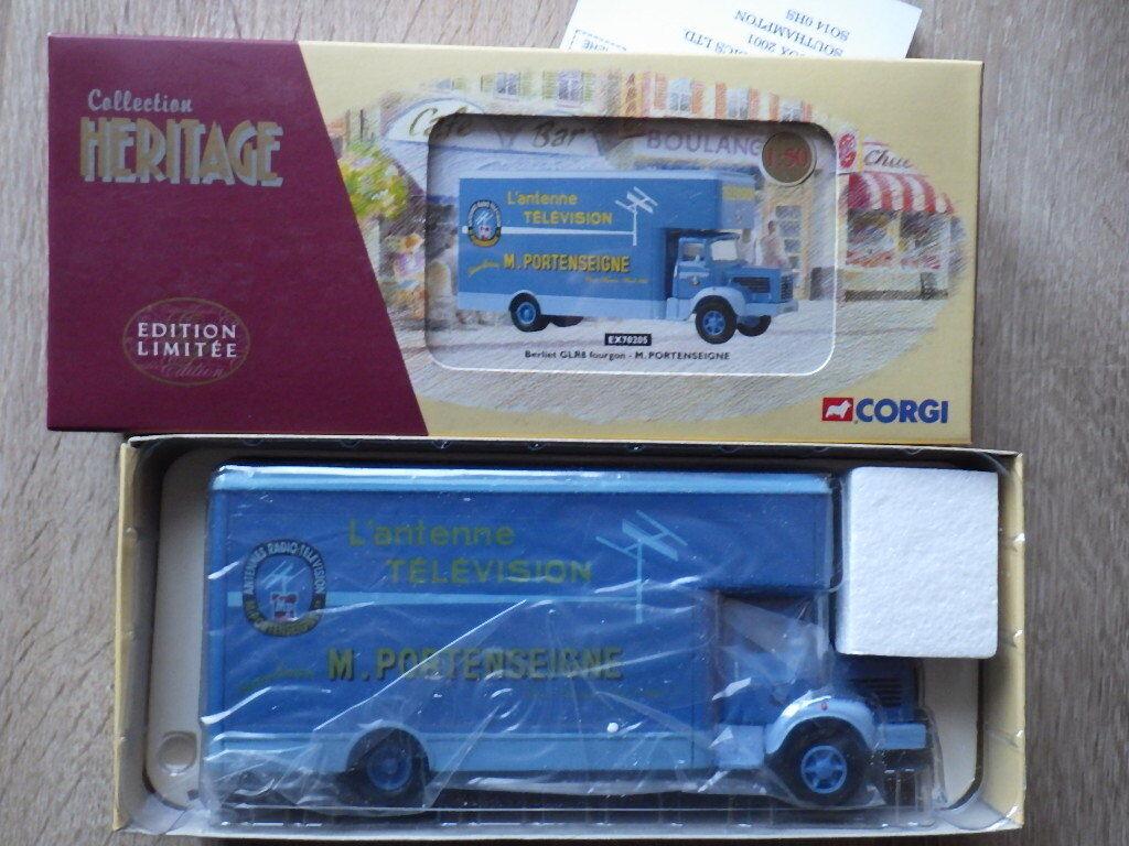 CORGI Collection Heritage EX 70205 Berliet GLR 8 Fourgon M. PORTENSEIGNE Antenne