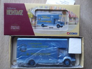 CORGI-Collection-Heritage-EX-70205-Berliet-GLR-8-Fourgon-M-PORTENSEIGNE-Antenne