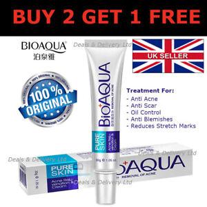 BIOAQUA-Pure-Skin-Anti-Acne-Scar-Blemish-Stretch-Marks-Removal-Face-Cream-30g-UK