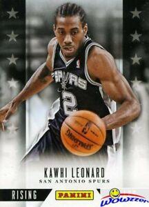 2013-14-Panini-Hoops-Rising-Stars-EXCLUSIVE-3-Kawhi-Leonard-MINT-Rare-Insert