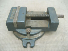 Vtg Palmgren 4 12 Milling Machine Drill Press Vise With Swivel Base No Handle