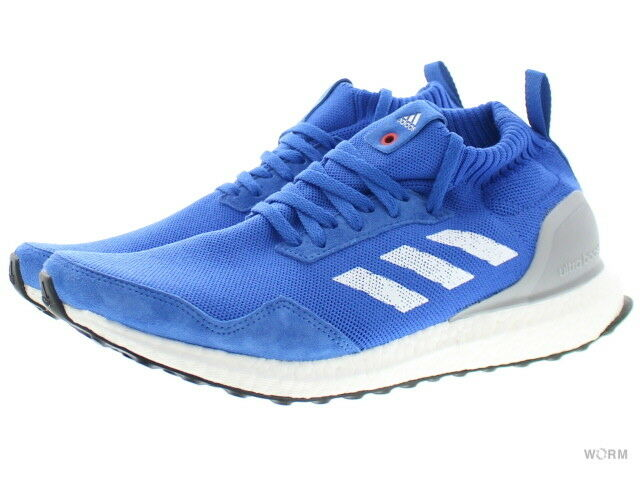 adidas ULTRA Size BOOST MID by3056 blue/white Size ULTRA 9.5 5a8ebc