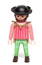 Playmobil Figure Castle King's Court Scribe w/ Hat Brown Hair Beard 3659