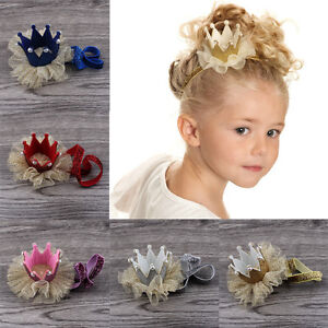 Cute-Baby-Girls-Crown-Princess-Hair-Clip-Gold-Glitter-Lace-Pearl-Headband-Tiara