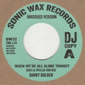 Sandy-Golden-When-We-039-re-All-Alone-Tonight-Sonic-Wax-Demo-SW32-Soul-Northern-Moto