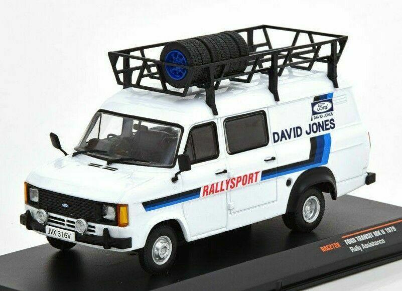 Venta barata IXO Models Ford Transit MARK II II II 1979 David Jones Rallysport 1-43 escala RAC272X  hasta 60% de descuento
