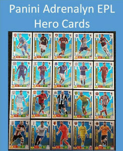 2019-20-Panini-Adrenalyn-XL-EPL-Soccer-Cards-Hero-Cards-361-396
