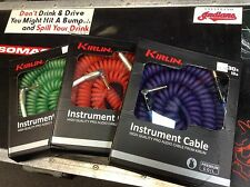 kirlin 30 ft curly guitar cable