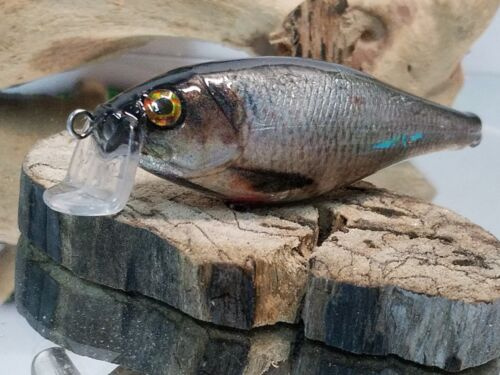 Custom wrapped and painted shad crankait