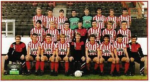SHEFFIELD UNITED FOOTBALL TEAM PHOTO 198687 SEASON - Swindon, United Kingdom - Returns accepted Most purchases from business sellers are protected by the Consumer Contract Regulations 2013 which give you the right to cancel the purchase within 14 days after the day you receive the item. Find out more about  - Swindon, United Kingdom