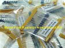 Metal Film Resistors (1/4W, 1%) - 1000 Piece Assortment   ( 28P125 )