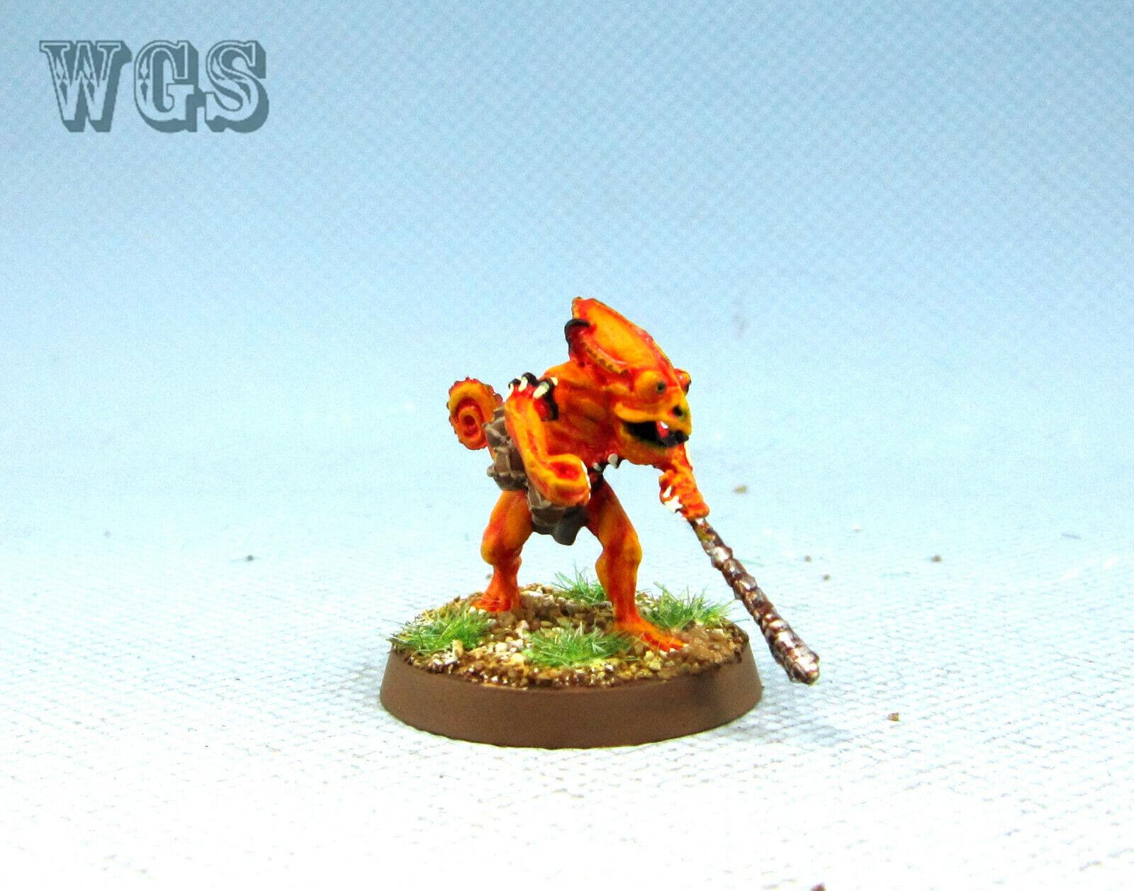 25mm Warhammer WGS Painted Lizardmen Lizardmen Classic Oxyotl LZ026