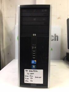 HP-Compaq-8100-Tower-Intel-Core-i3-550-3-20Ghz-4GB-250GB-DVD-RW-Linux