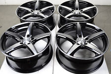 17 5x112 Rims Black Polished Fits Mercedes Benz S500 E350 S350 S430 E320 Wheels