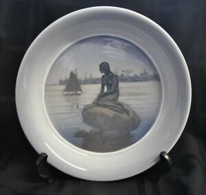 Royal-Copenhagen-Little-Mermaid-Bowl-Den-Lille-Havfrue-Langelinie-Denmark-3643