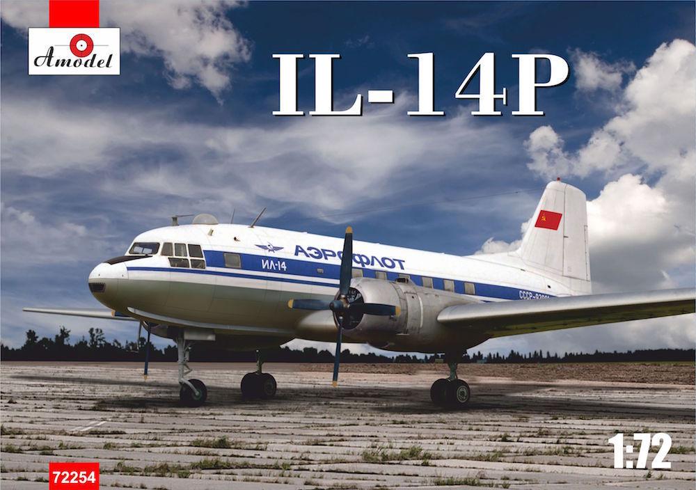 Amodel 1 72 Ilyushin Il-14P  Crate