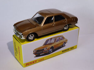 Peugeot-504-berline-ref-1452-au-1-43-de-dinky-toys-atlas