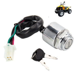 Marvelous Universal Motorcycle Motorbike Ignition Barrel Key Switch 4 Wires Wiring 101 Olytiaxxcnl