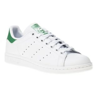 ee86b8928a36 Image is loading New-Boys-adidas-White-Stan-Smith-Leather-Trainers-