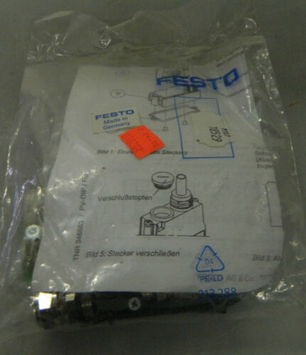 NEW Festo Profibus Connector Kit, # FBSSUB9GS9, new IN PACKAGE, WARRANTY