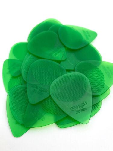 Wedgie Clear XT Guitar PicksTextured.60 mmGreen36 pcs