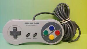 Super-Pad-Super-Nintendo-System-SNES-Game-Controller-Super-Nintendo-SNES-Tested