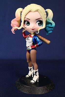 Special Color Harley Quinn Banpresto Q Posket NEW DC Comics Figure Authentic