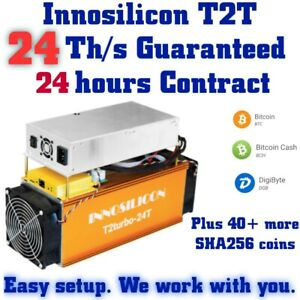 NEW-24-Th-s-Innosilicon-T2T-24-Hours-Contract-for-BTC-amp-any-SHA256-coin