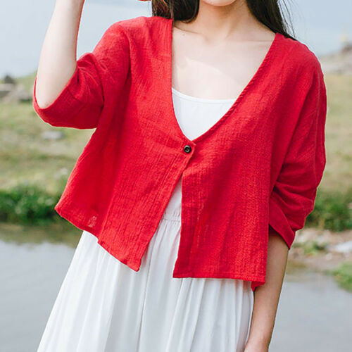 Women Casual Long Sleeve Solid Open Front Loose Blazer Jacket Cardigan Coat Tops