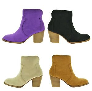 Tronchetti-donna-primaverili-scarpe-traforate-estive-stivaletti-scamosciati