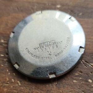 Seiko 5 Automatic 6309-5820 Wristwatch back,32.3 mm