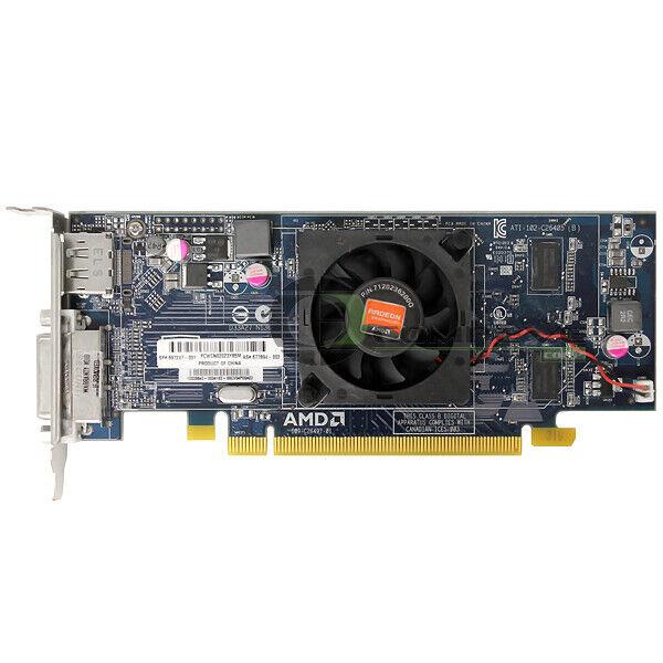 HP ATI AMD Radeon HD 7450 1GB PCI-E x16 DVI - DP B1R44AA 697247-001 677894-002
