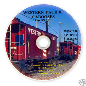 WP-SN-TS-Western-Pacific-Railroad-Caboose-Slides-on-Photo-CD-BN-UP-DRGW
