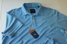 Tommy Bahama Polo Shirt Dune Drifter Spectator Buccaneer Blue T216137 Large L