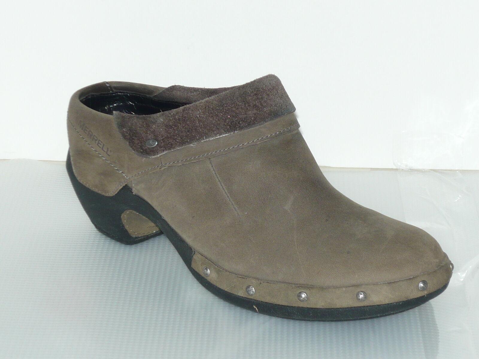 per offrirti un piacevole shopping online Merrell Taupe Suede Slide Slide Slide Moc Mule donna 8.5  vendita di offerte