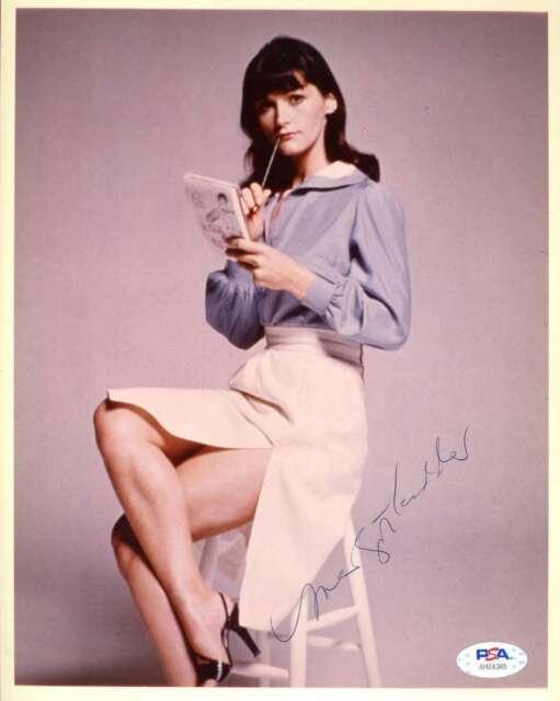 Margot Kidder Psa Dna Coa Signed 8x10 Photo Autograph