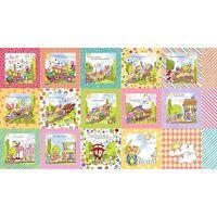Loralie Precious Express Book Panel Quilt Fabric 23 X 44 692-178