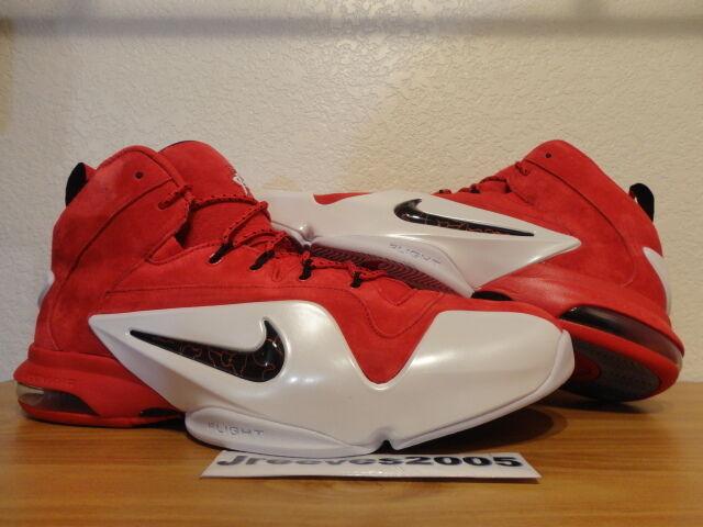 new style 71a46 2c2b2 Nike Zoom Penny VI 6 UNIVERSITY RED Sz 11 100% Authetic Retro Posite  Foamposite