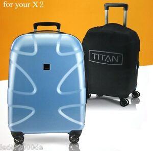 Marken-Koffer-schutzhuelle-Bezug-Schwarz-Luggage-Cover-dehnbar-S-M-L