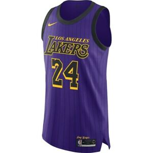Nike MEN'S Los Angeles LA Lakers City Edition KOBE BRYANT 24 ...