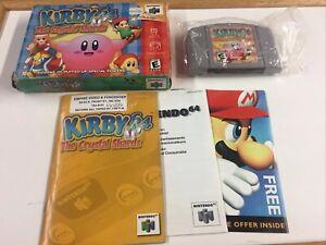 Kirby-64-The-Crystal-Shards-Nintendo-64-2000-Box-Manual-Complete-CIB-N64